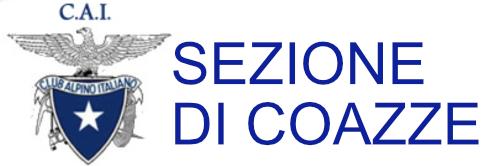 CAI SEZIONE COAZZE Logo
