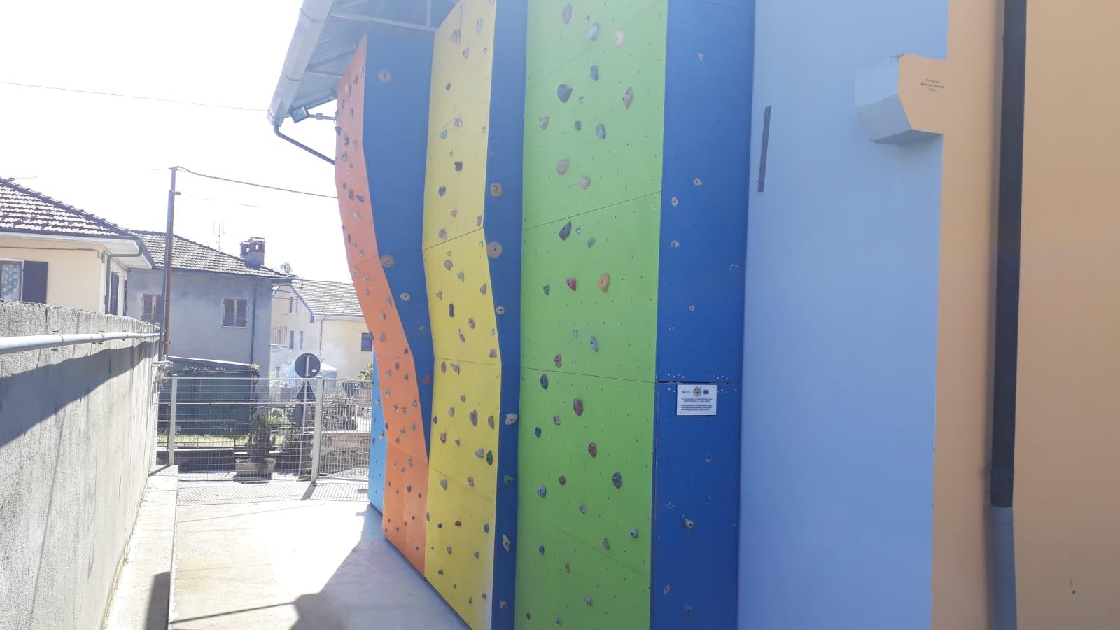palestra arrampicata Coazze