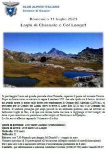 Escursionismo - Laghi di Chianale e Col Longet @ Pontechianale