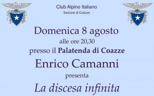PRESENTAZIONE ROMANZO CAMANNI @ Parco comunale di Coazze