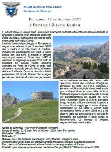 Escursionismo - Forti Olive e Lenlon @ Plampinet (Nevache)